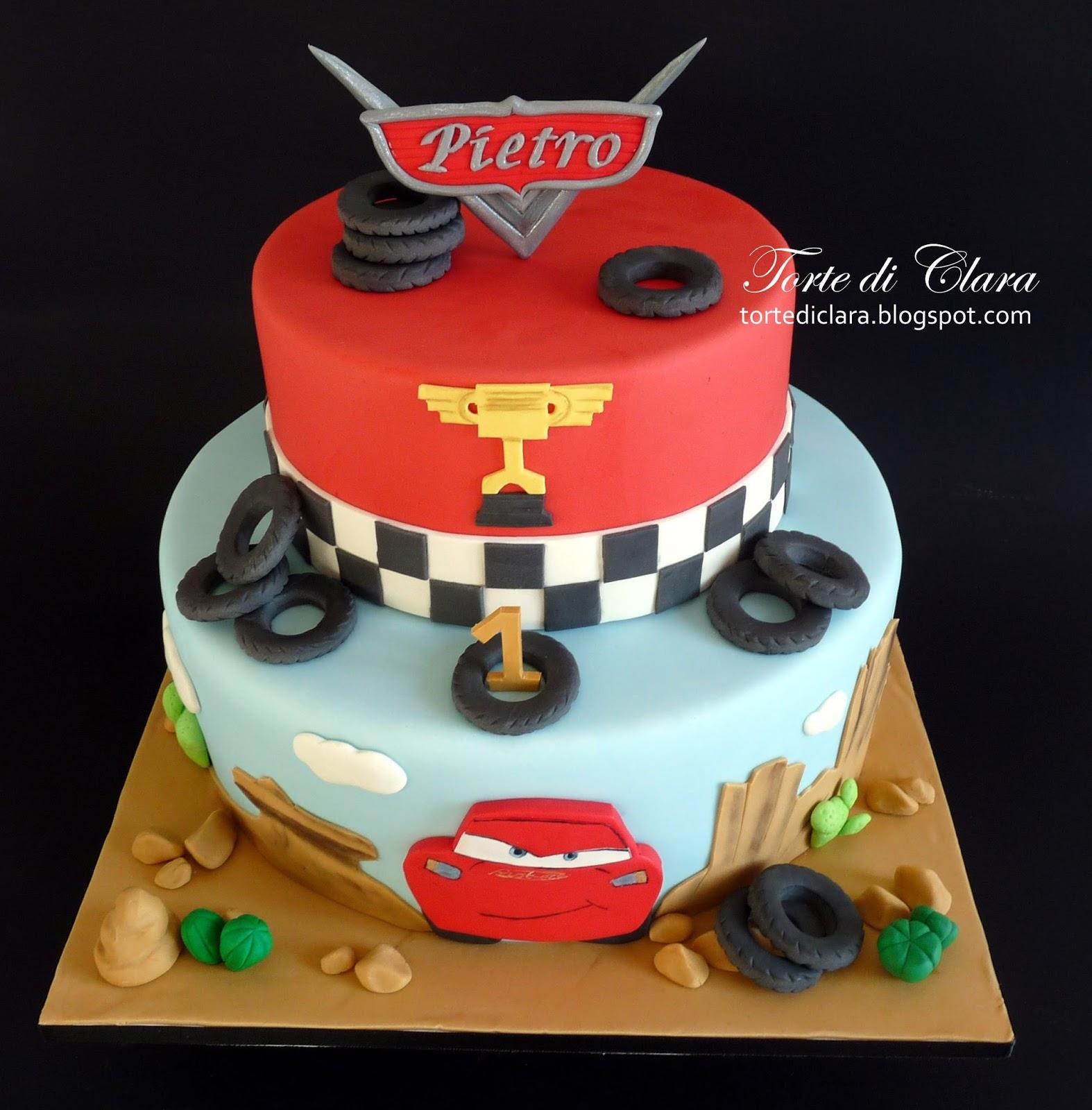 Torte di Clara: Cars cake (4)