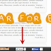 How To Add a Floating Sticky Footer Bar in Blogger