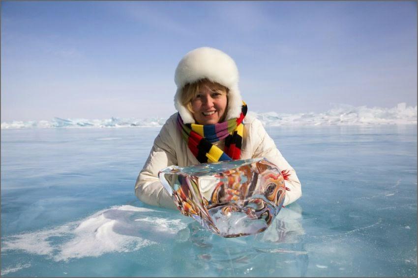 News Dumper Crystal Clear Ice Of Lake Baikal
