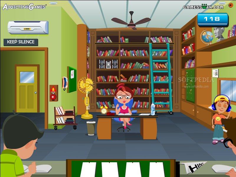 Neşeli Kütüphane Oyunu