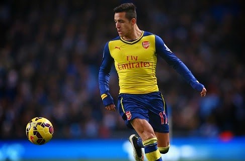 Alexis Sanchez not happy at Arsenal