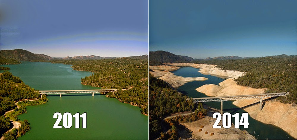 NASA: Only 1 year of water left in California