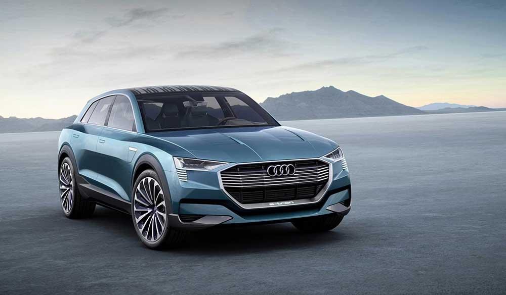 Audi E-tron Quattro Konsept Arabası ile Tanışın