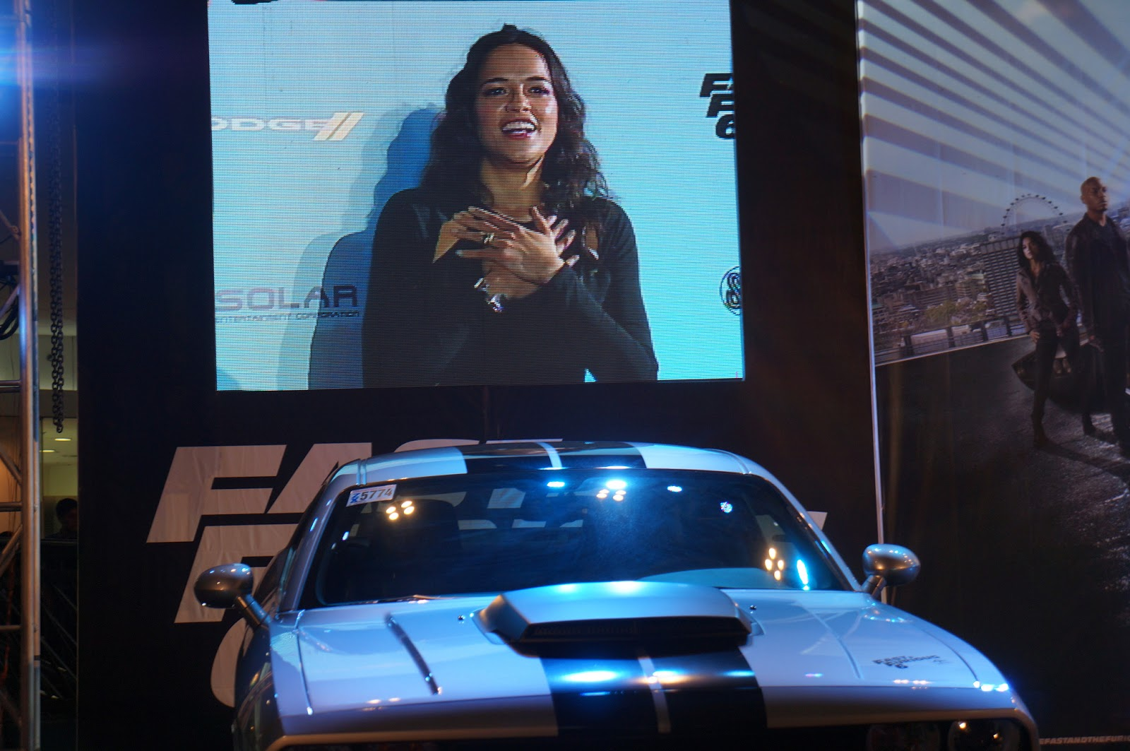 Aside from the premiere a car show was organized to welcome the stars and guests at sm mall of asia on the same date the car show highlights included a