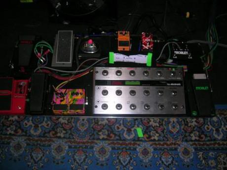 steve vai pedalboard