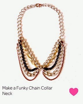 funky chain collar