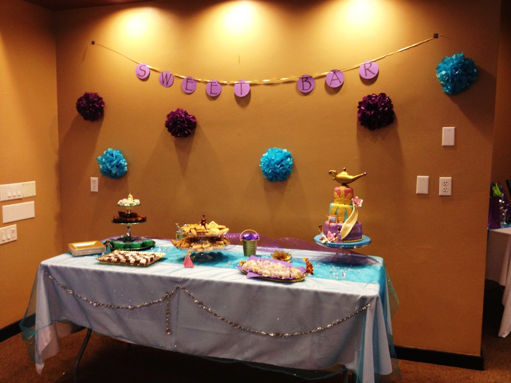 Aladdin Themed Bridal Shower This Fairy Tale Life