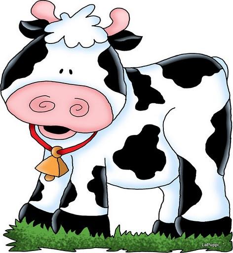 Dibujos de vaca en color - Imagui