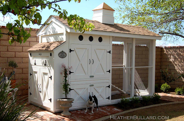 Fancy Backyard Chicken Coops : Oeufs Cocotte and Chicken Cottages  Yummy Mummy Kitchen  A Vibrant