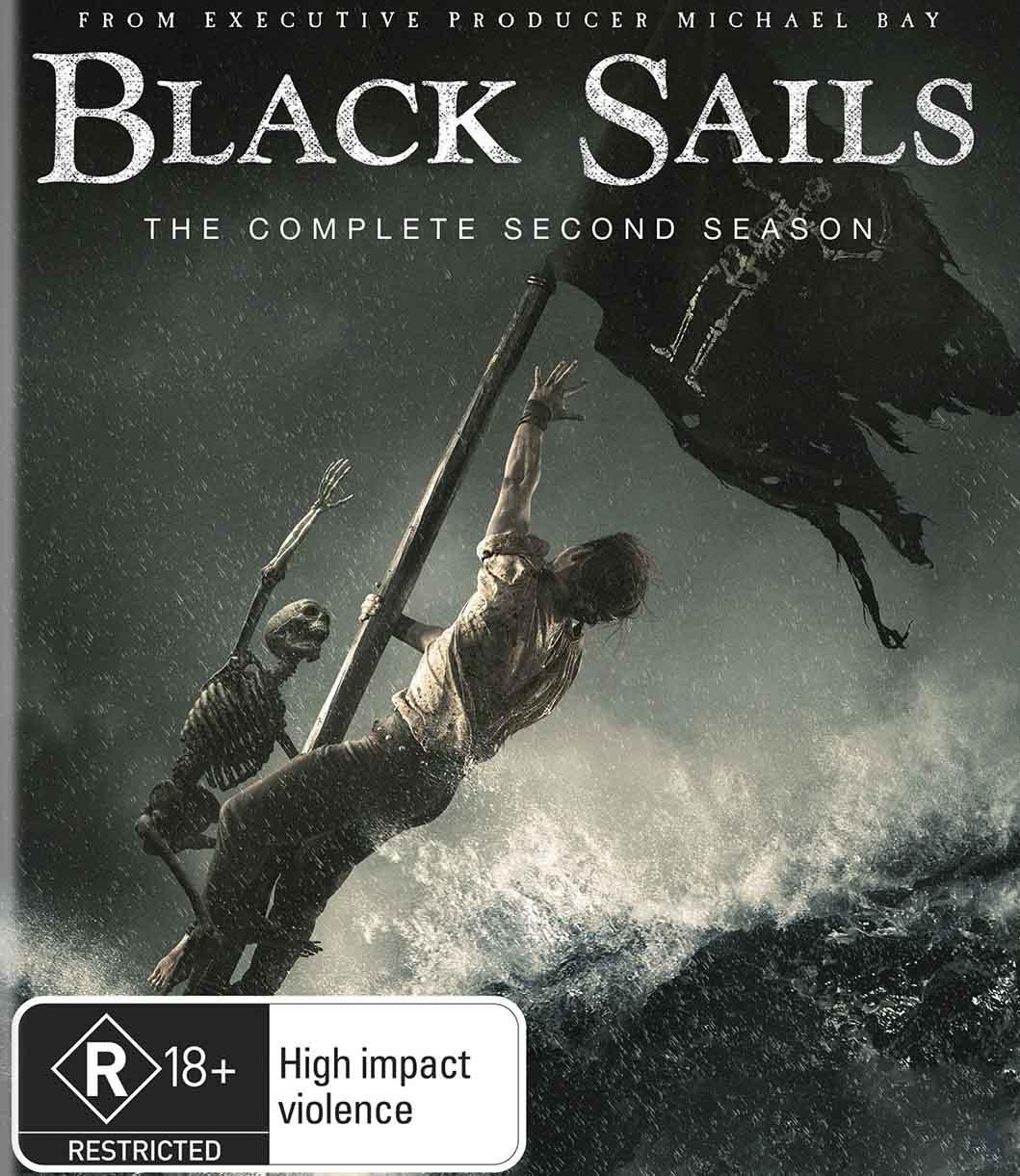 Black Sails 2ª Temporada Torrent - WEB-DL 720p Dual Áudio