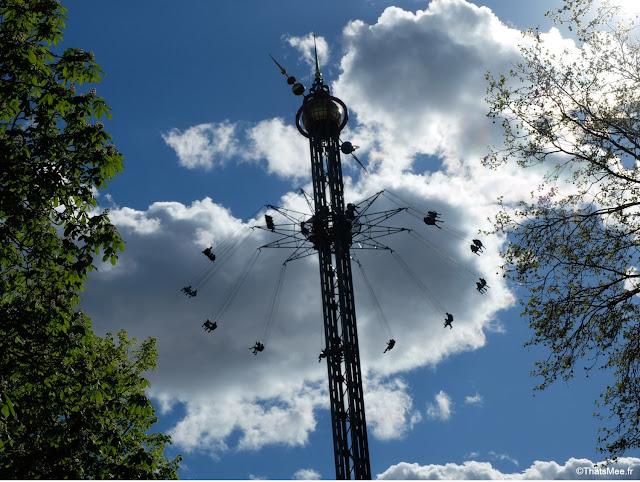 jardin de Tivoli copenhague danemark parc attraction disneyland manege balancoire tour