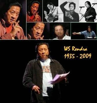 Gambar WS Rendra Baca puisi, Legenda dan tokoh puisi Indonesia