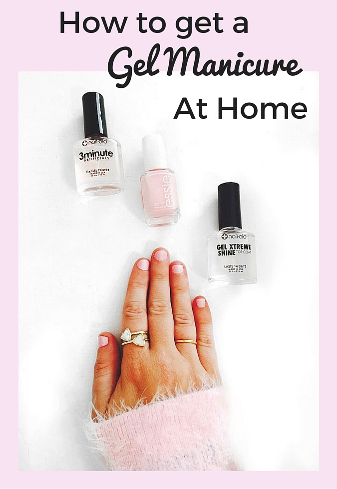 How to Get Gel Nails At Home - Helene in Between