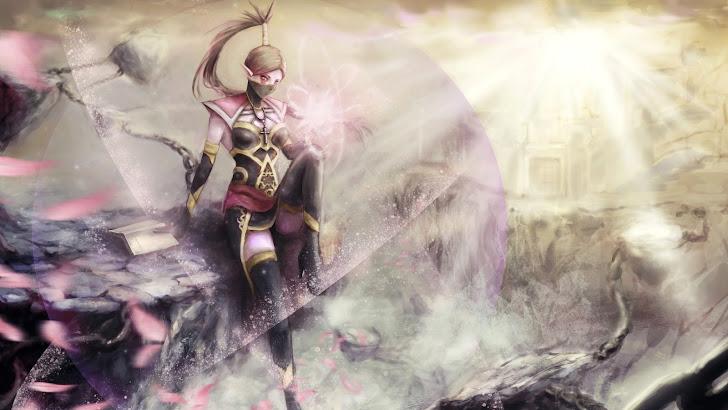 Templar Assassin Lanaya DoTA 2 girl hero