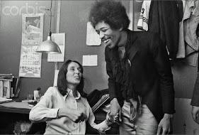 Joan Baez & Jimi Hendrix 1968