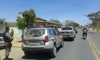 PM realiza operação em cidades do Curimataú e Seridó na tentantiva de coibir crimes