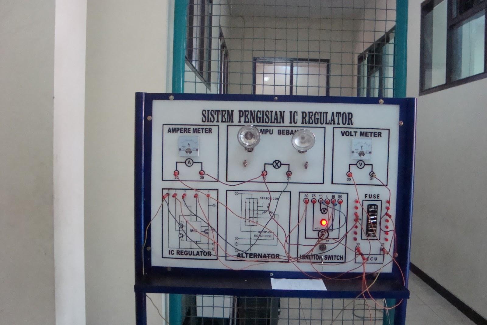 Trainer sistem pengisian mesin pada dasarnya sistem pengisian sangatlah penting dalam suatu konstruksi sistem kelistrikan pada kendaraan karena sangat berpengaruh pada baterai ccuart Gallery