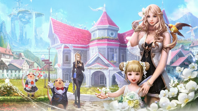 aion fantasy game wallpapers hd