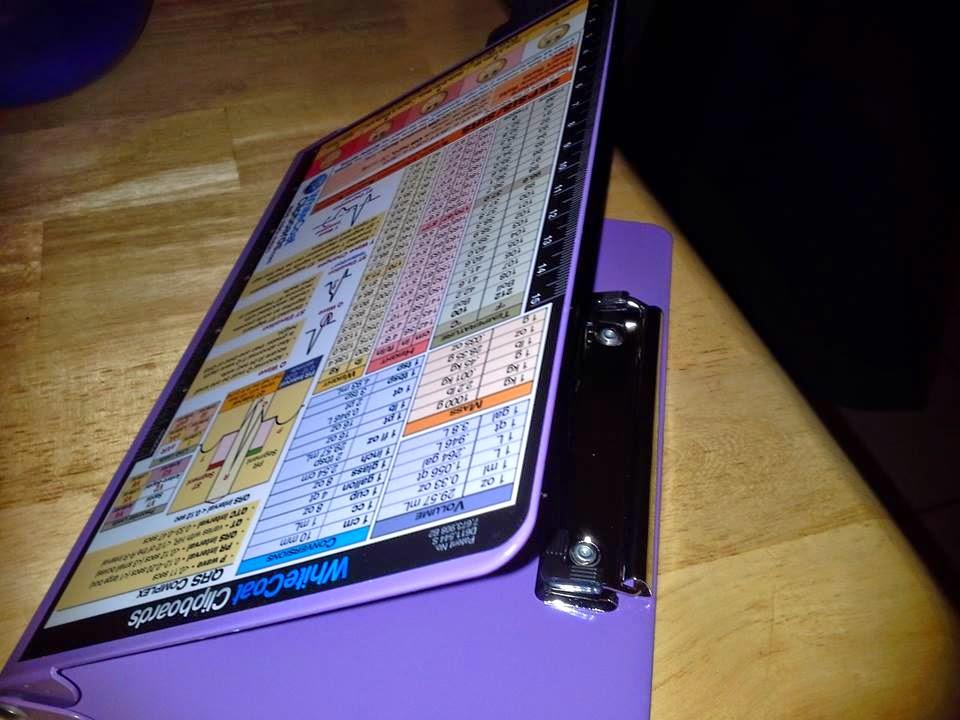 The Lemon Bee Book & Blog: Folding Clipboard for Nurses by