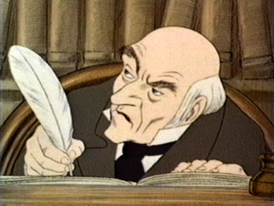 Wordsmithonia: Michelle's Favorite Fictional Character --- Ebenezer Scrooge