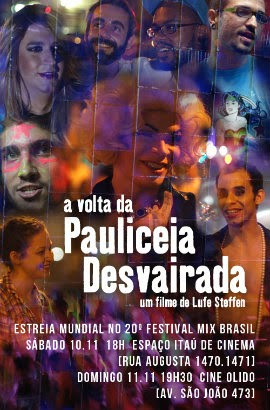 Download Filme A Volta da Pauliceia Desvairada – WEB DL AVi + RMVB Nacional