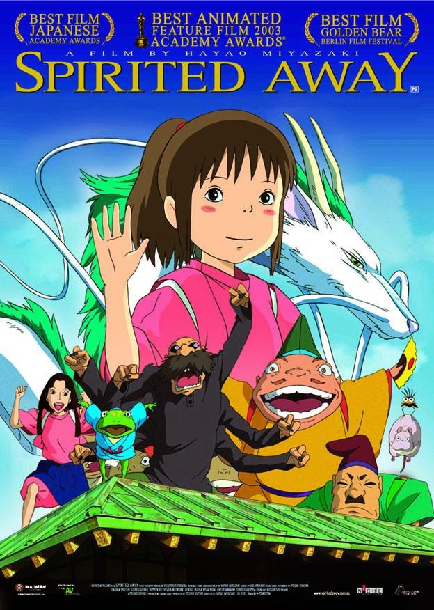 Watch Spirited Away (2001) Online For Free Full Movie English Stream