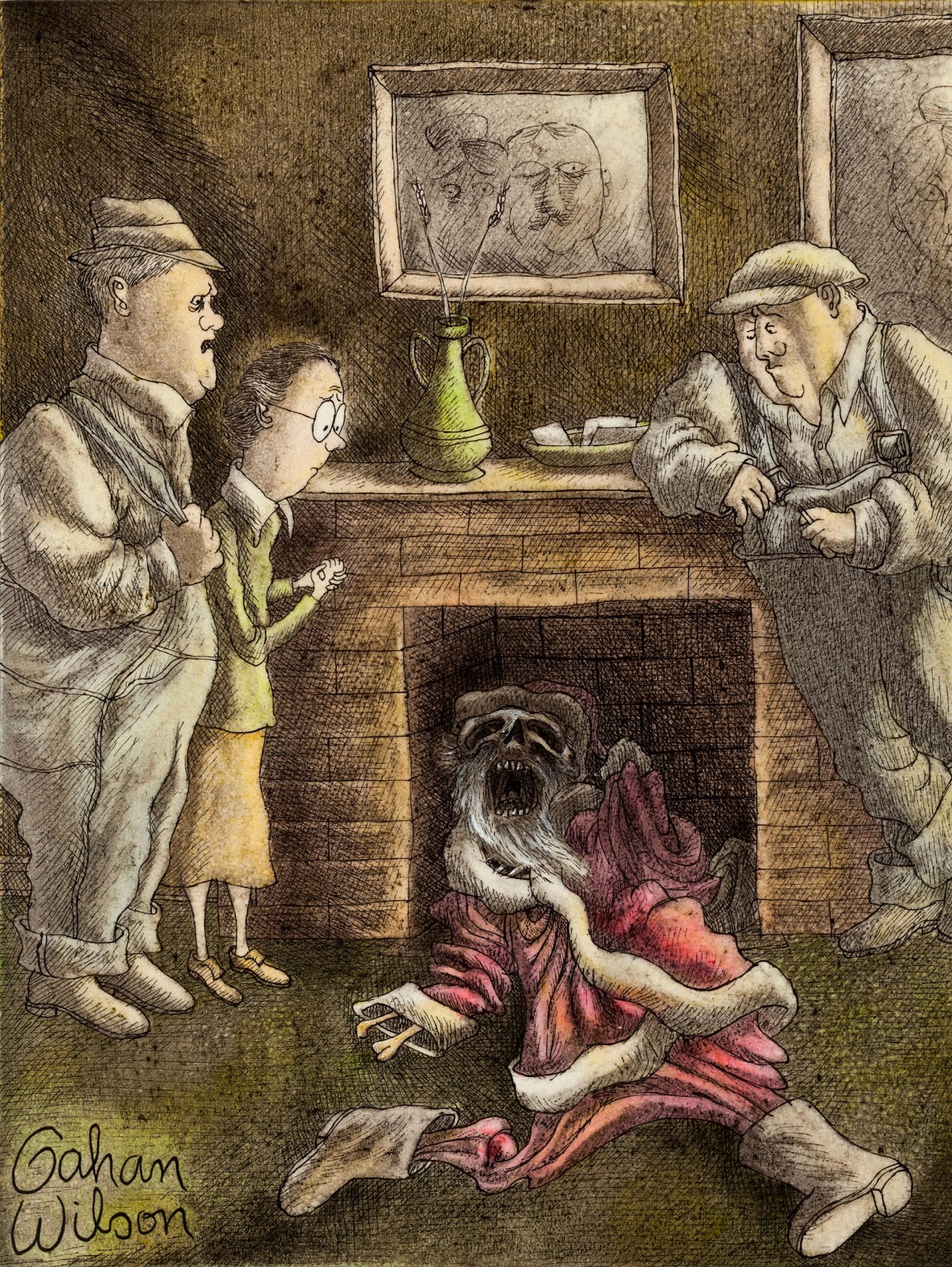 ... what's been clogging your chimney since last December, Miss Emmy