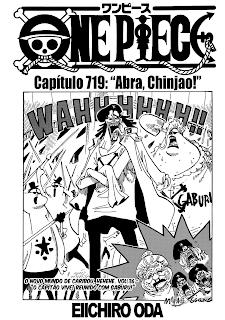 One Piece 719 Português Mangá leitura online
