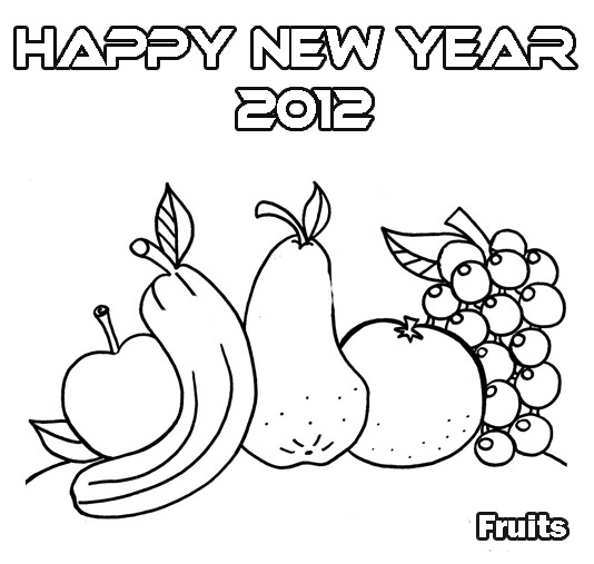 534 x 507 jpeg 67kB, New Year S Coloring Pages/page/2 | New Calendar ...