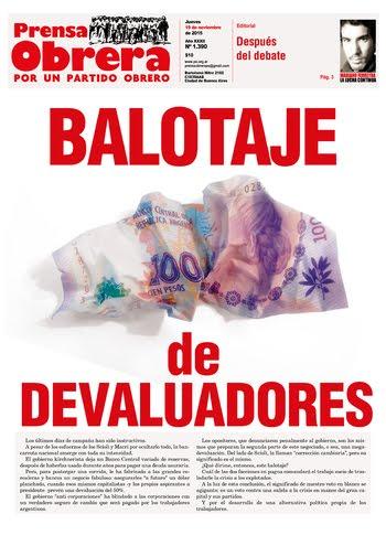 Prensa Obrera Nº 1390