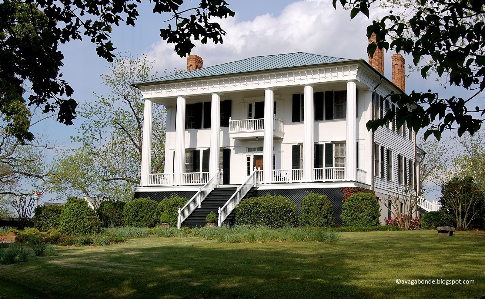 Recollections of a vagabonde shoulderbone plantation for Civil war plantation homes for sale