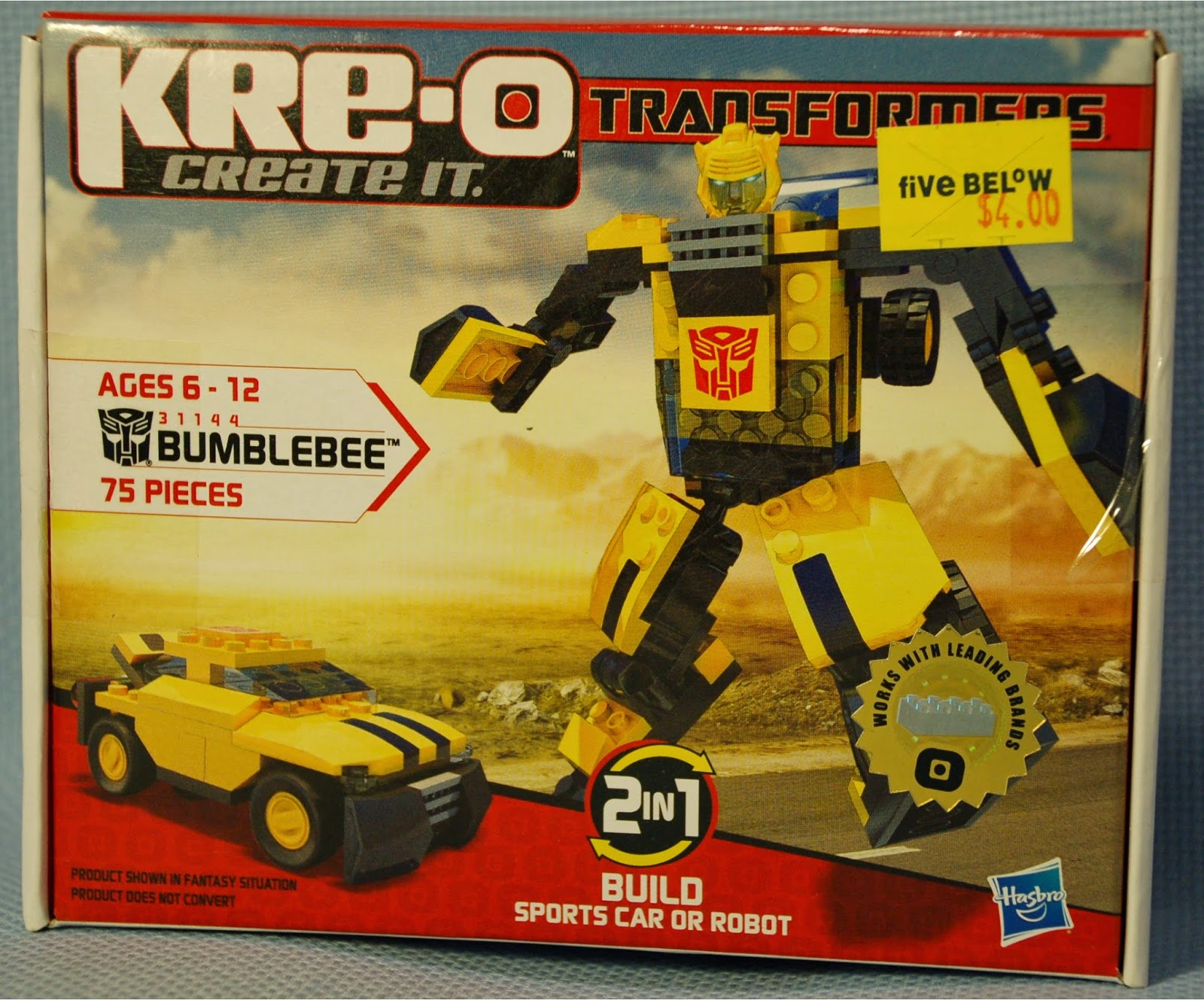 The Mobile Frame Garage Purity 31144 Transformers Bumblebee Review