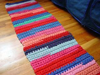 t-shirt yarn rug