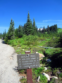 Skyline Trail. 4.1 miles to Camp Muir.