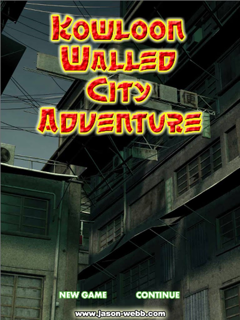 Kowloon Walled City Text Adventure Game for iPhone, iPad, Android, and Amazon Kindle Fire out now