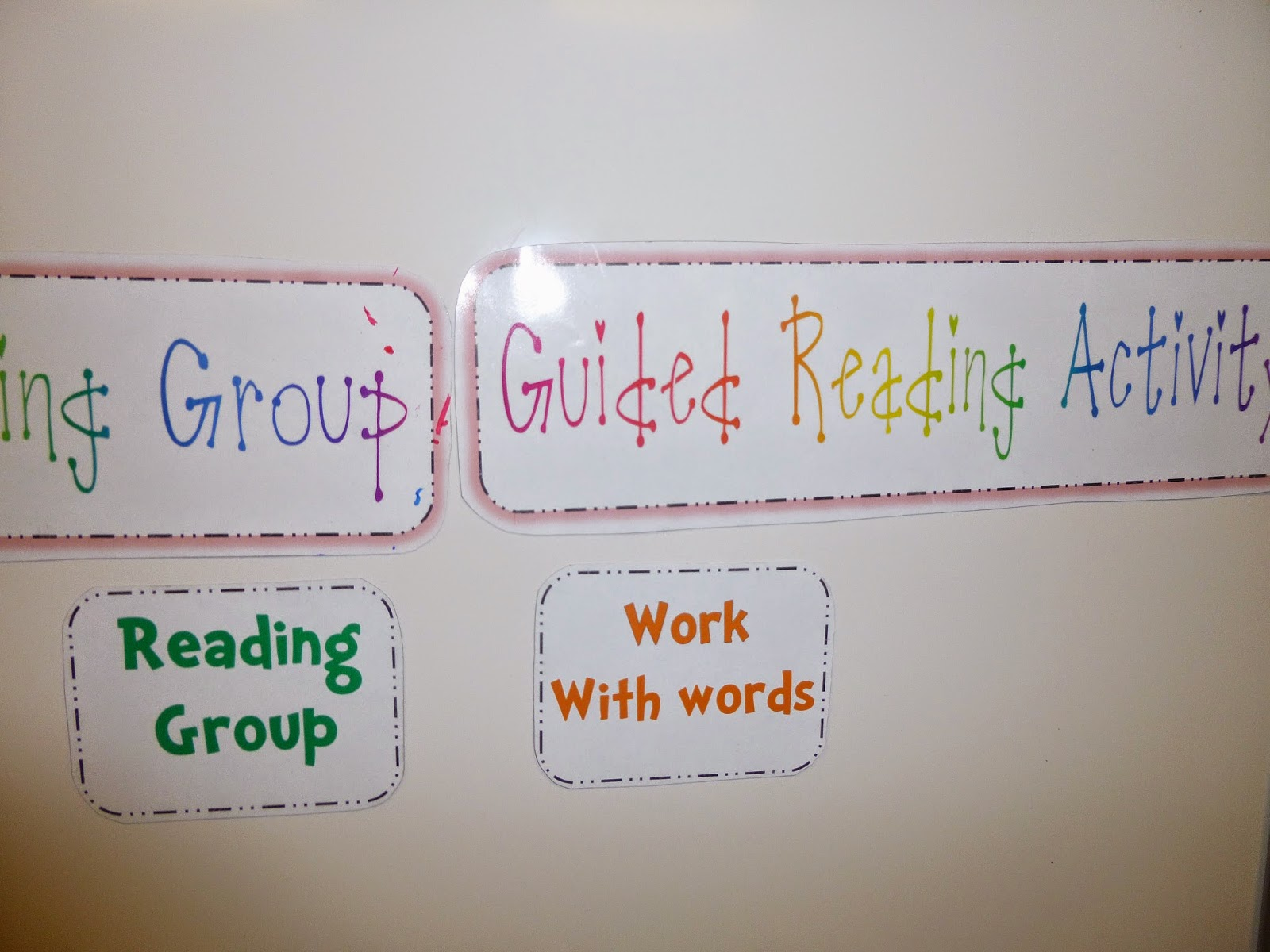 Guest blog post from Elementary AMC with some super cute ways to use magnetic sheets to create classroom decor!