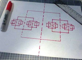 Cara Membuat Tangga 3D dan Gedungnya dari Kertas