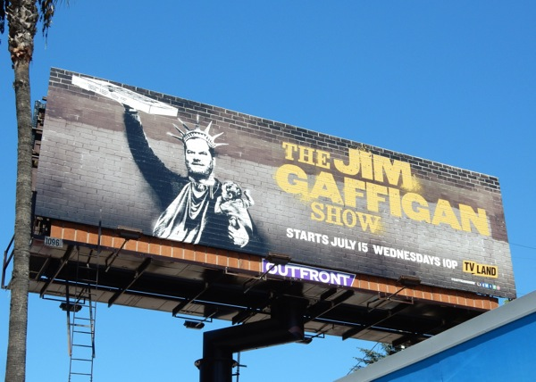 Jim Gaffigan Show series premiere billboard