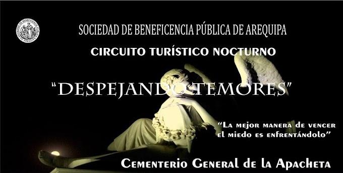 Circuito Turístico nocturno al Cementerio General La Apacheta (26 julio)