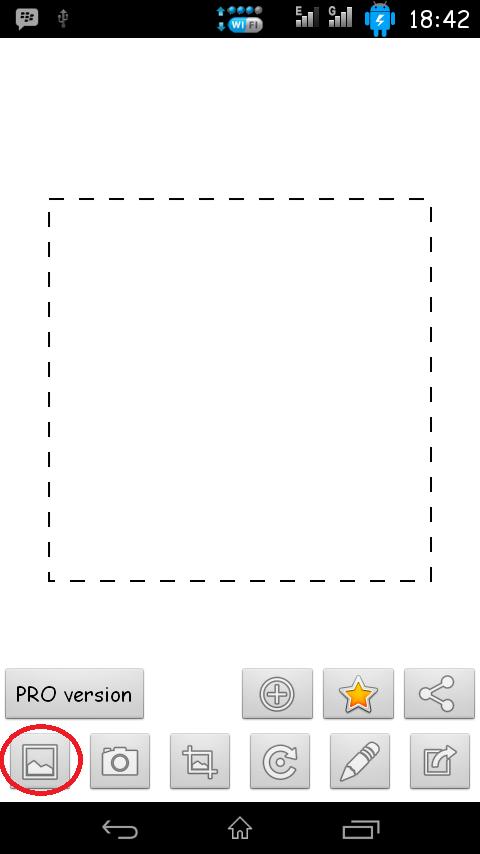 Cara Memasang Foto Profil (DP) di BBM Android Tanpa Crop