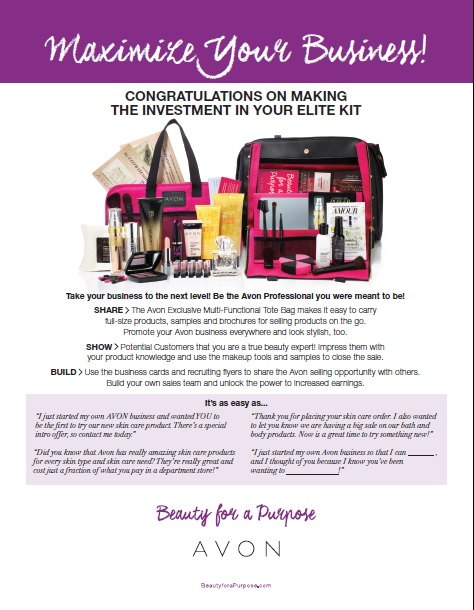 how to become an avon representative online
