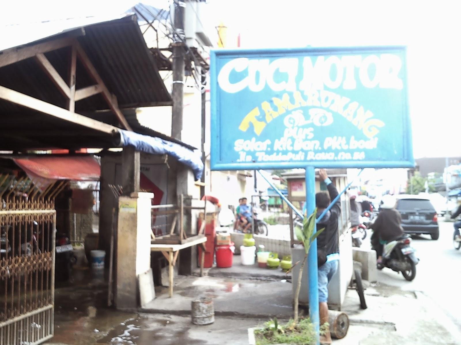 Usaha Cuci Motor di Kota Makassar