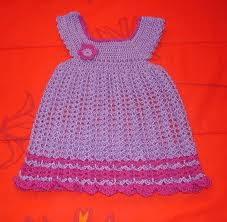 فستان كروشية