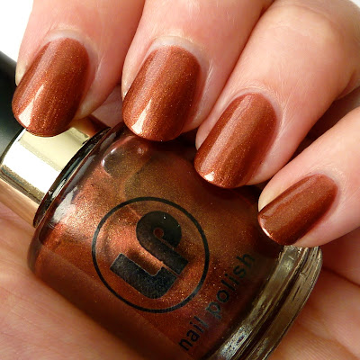 Laura Paige Raspberry Chocolate nail polish swatch