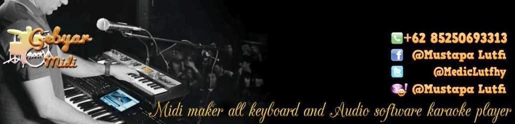 GRATIS download lagu Midi Karaoke terbaru