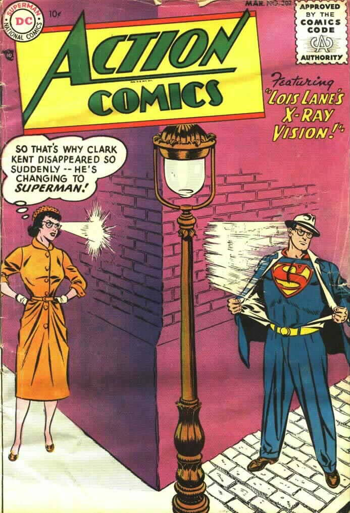 Action Comics (1938) 202 Page 1