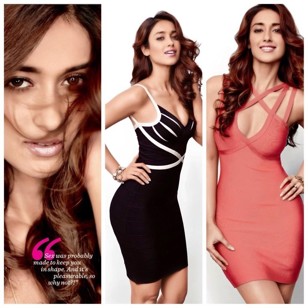 Ileana D'Cruz Flaunting her Curves in Womens Health Magazine 2014