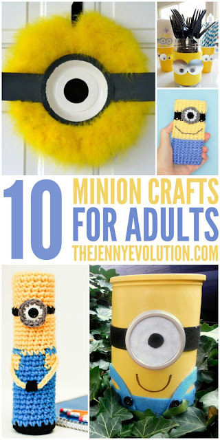 Minion Crafts for Adults, How to make minions