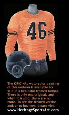 Chicago Bears 1935 uniform