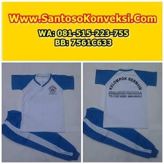 Contoh Model Desain Kaos Seragam Olahraga PAUD